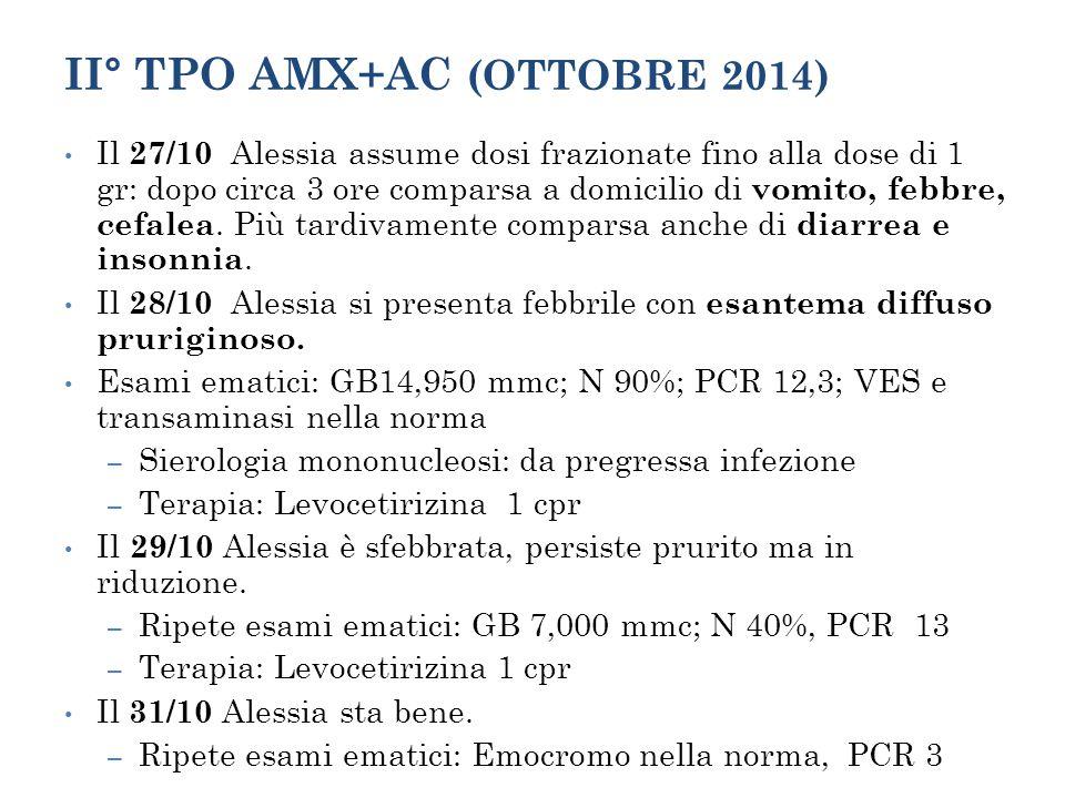 II° TPO AMX+AC (OTTOBRE 2014)