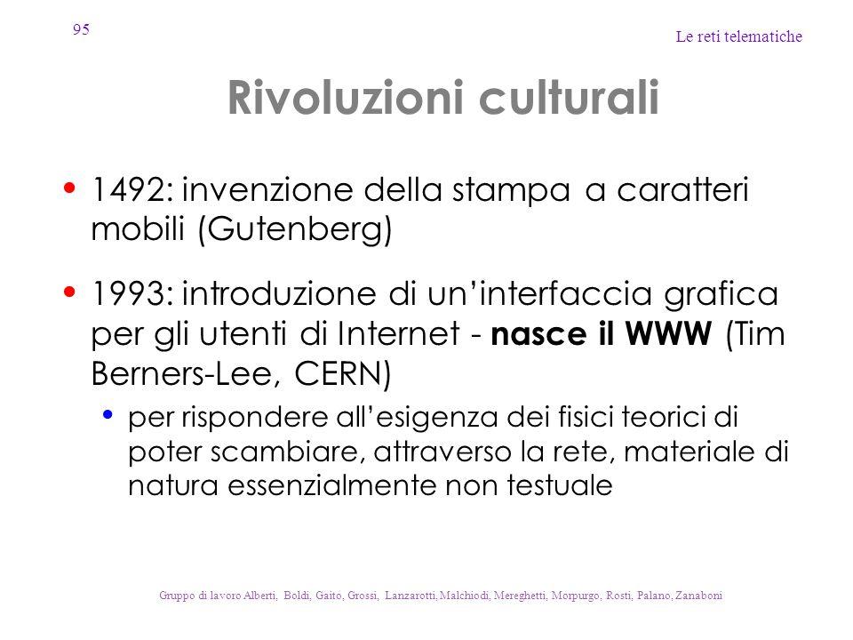 Rivoluzioni culturali