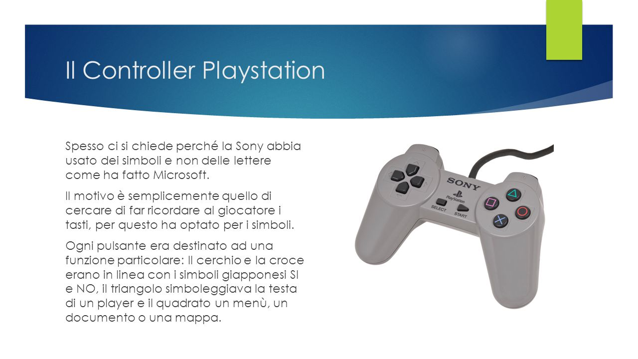 Il Controller Playstation