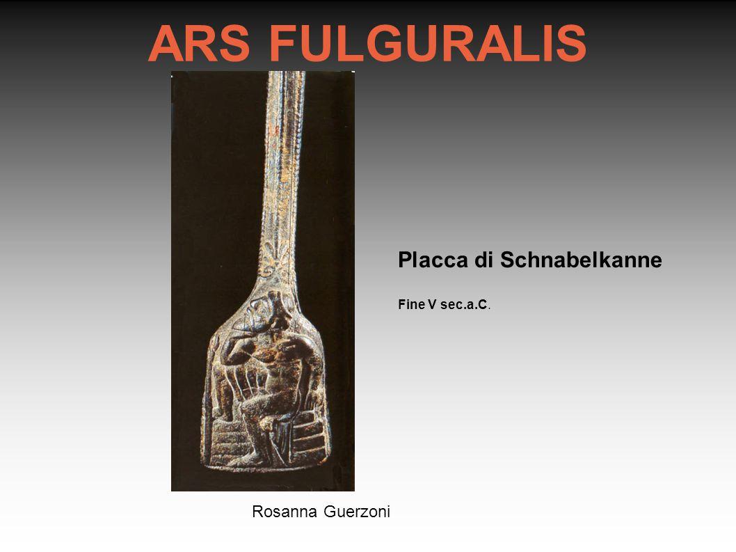 ARS FULGURALIS Placca di Schnabelkanne Rosanna Guerzoni