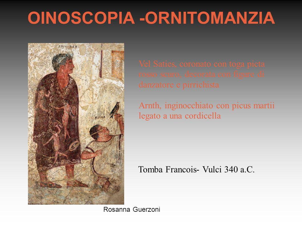 OINOSCOPIA -ORNITOMANZIA