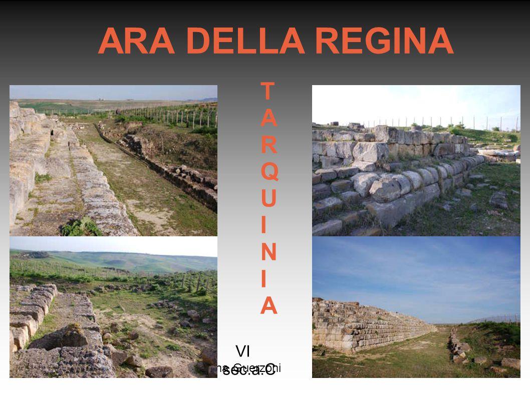 ARA DELLA REGINA TARQUINIA VI sec.a.C Rosanna Guerzoni