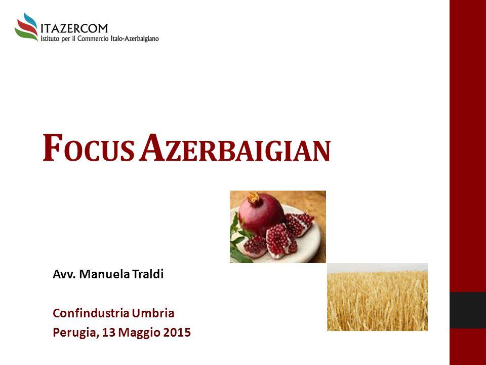 Avv. Manuela Traldi Confindustria Umbria Perugia, 13 Maggio 2015