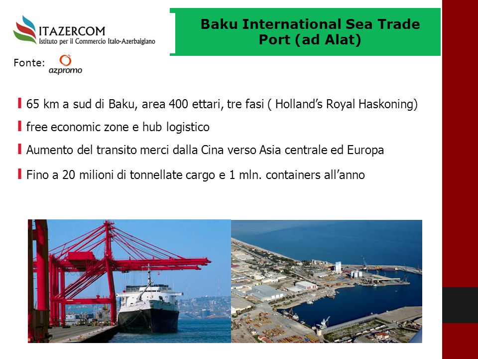 Baku International Sea Trade Port (ad Alat)