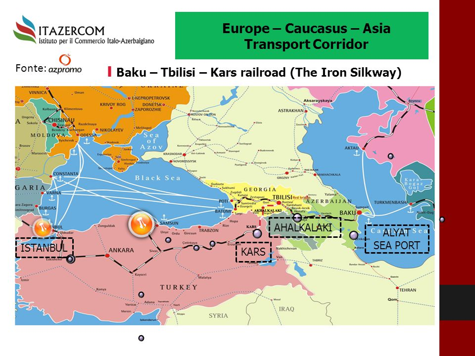 Europe – Caucasus – Asia Transport Corridor