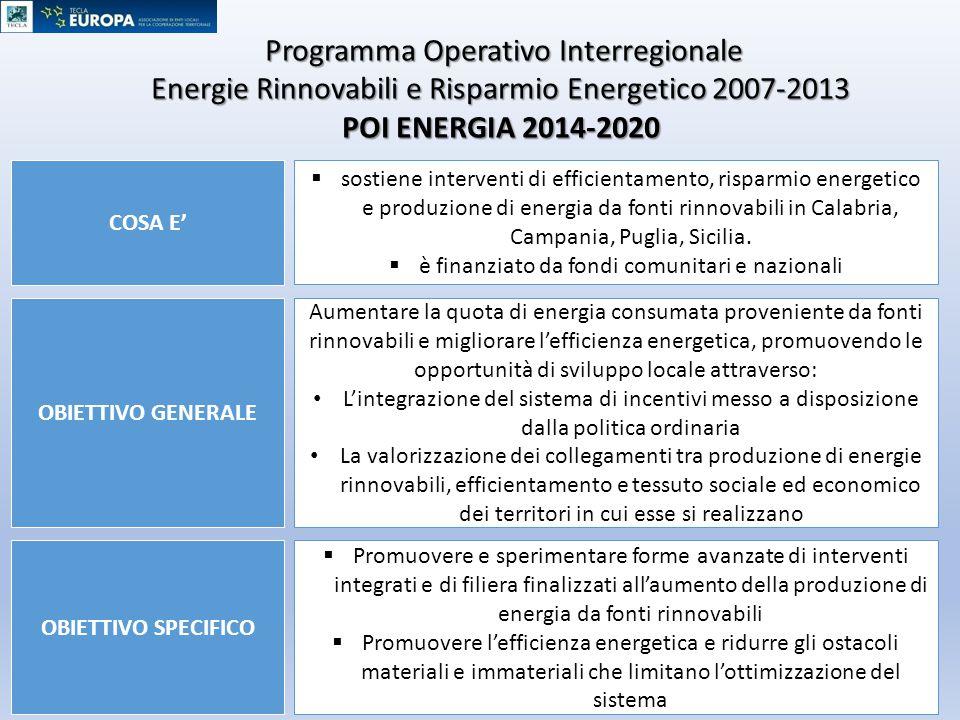 Programma Operativo Interregionale