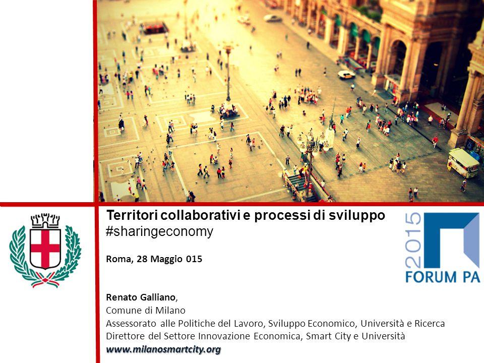 Territori collaborativi e processi di sviluppo #sharingeconomy