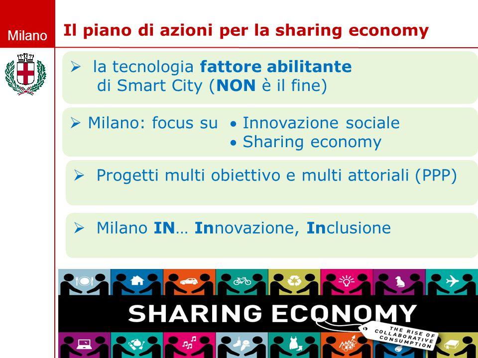 Il piano di azioni per la sharing economy