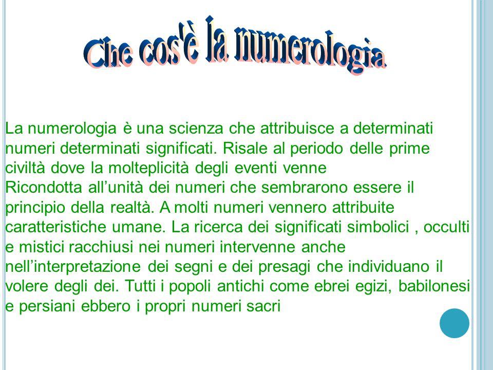 Che cos è la numerologia