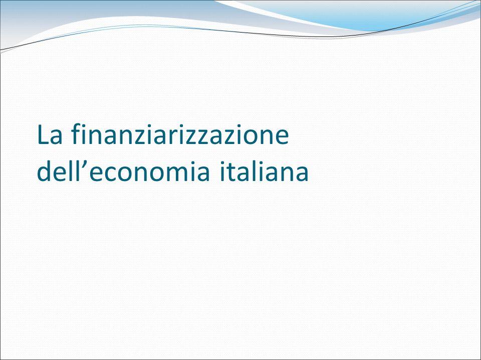 La finanziarizzazione dell'economia italiana
