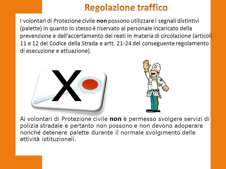 x Regolazione traffico