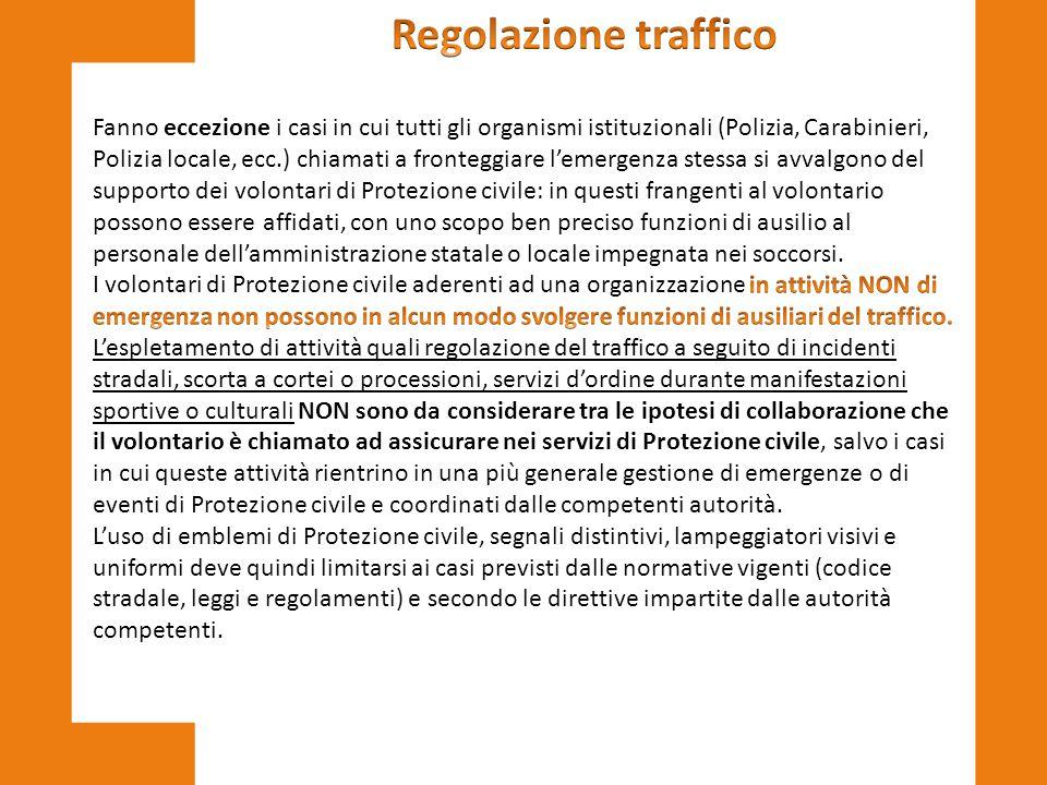 Regolazione traffico