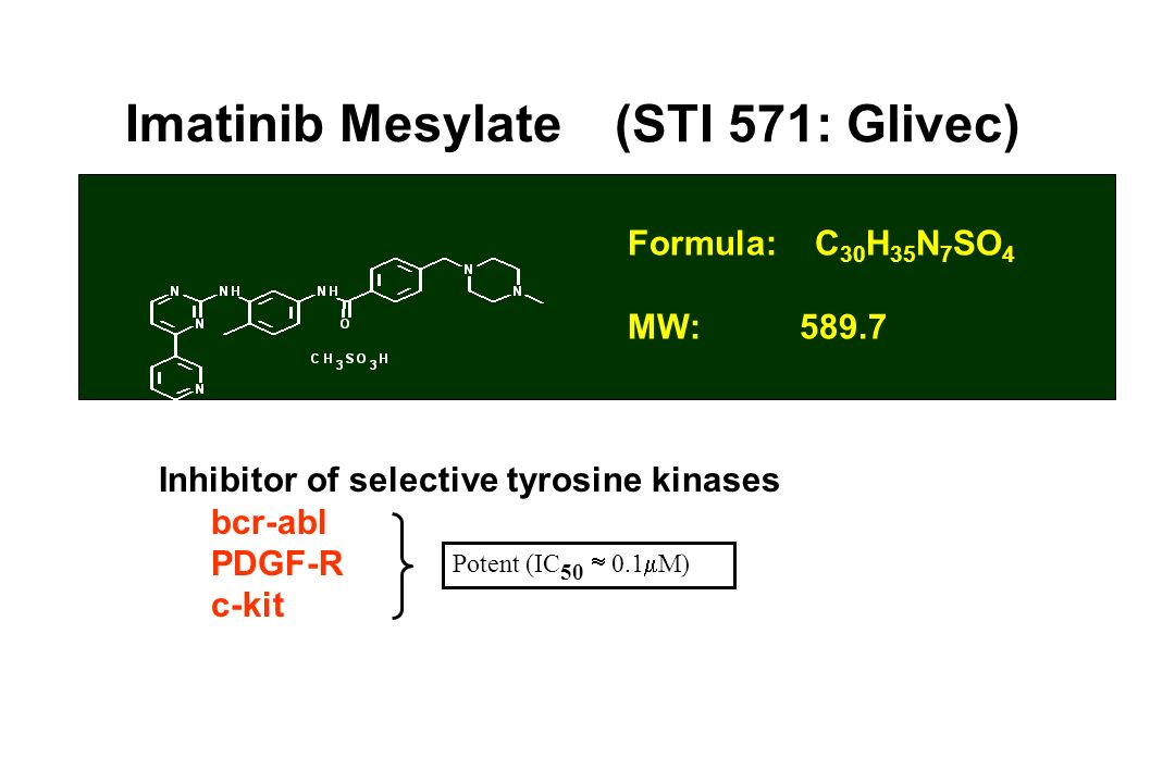 Imatinib Mesylate (STI 571: Glivec)