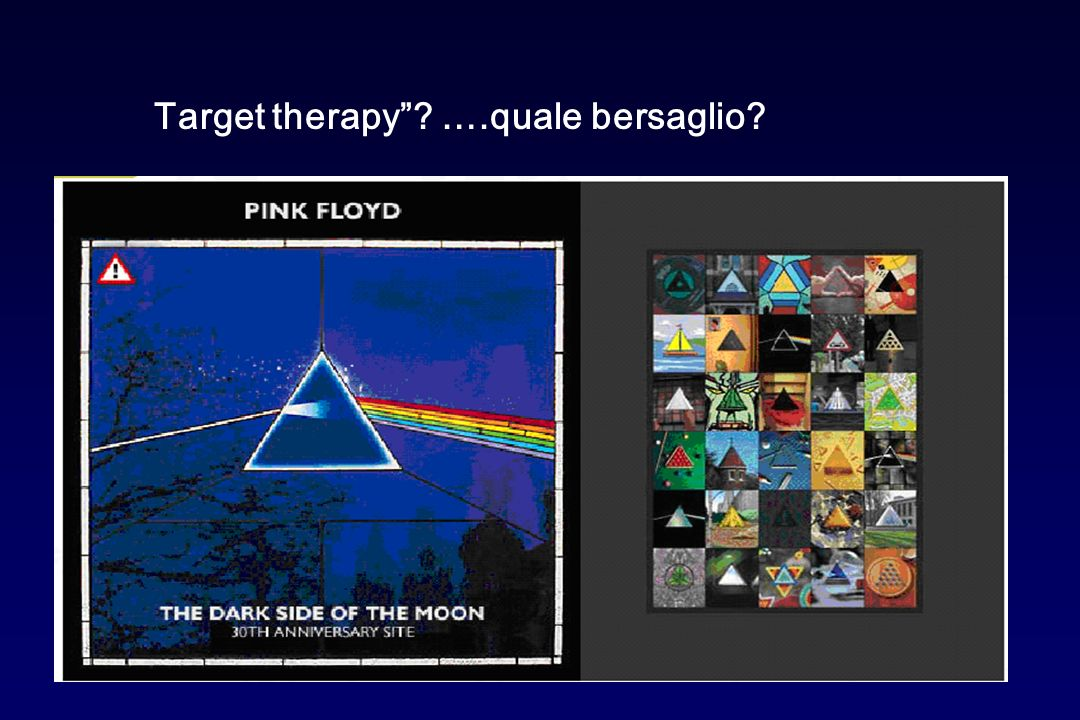 Target therapy ….quale bersaglio