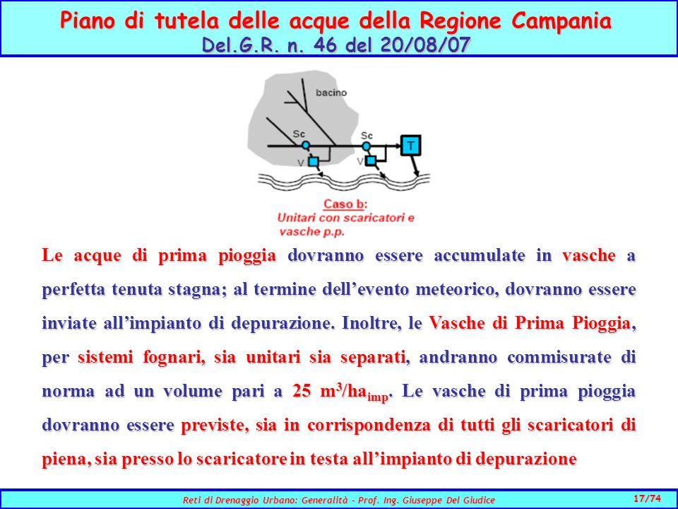 Piano di tutela delle acque della Regione Campania