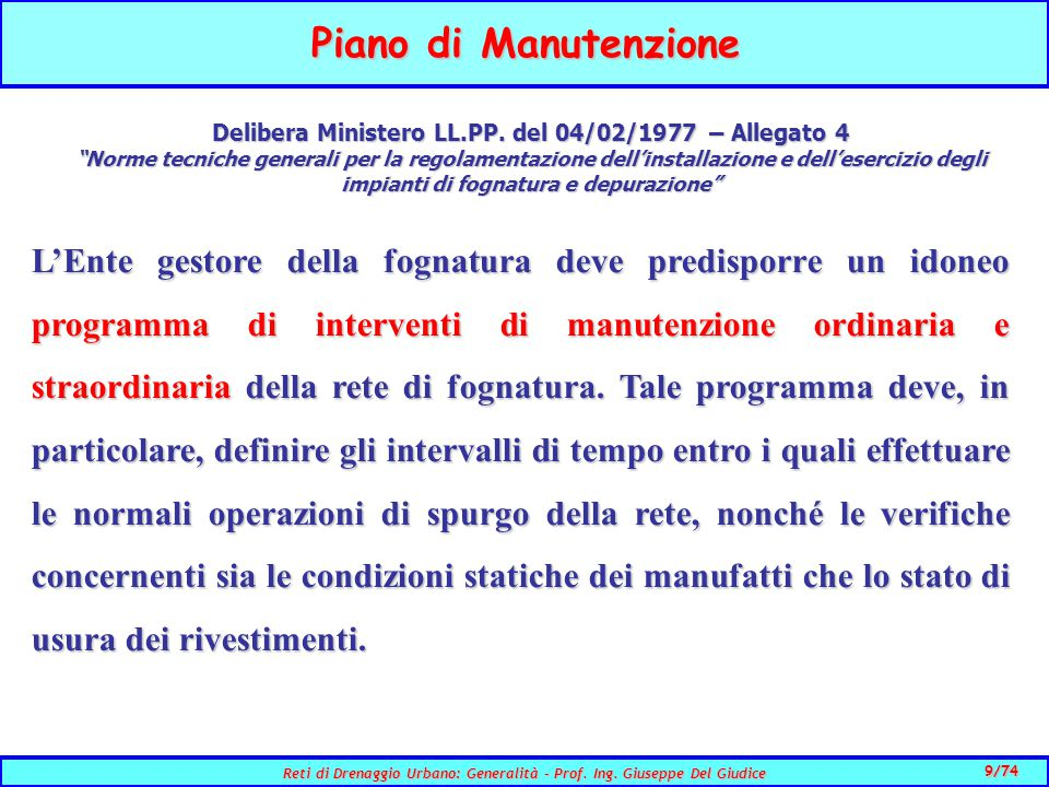Delibera Ministero LL.PP. del 04/02/1977 – Allegato 4