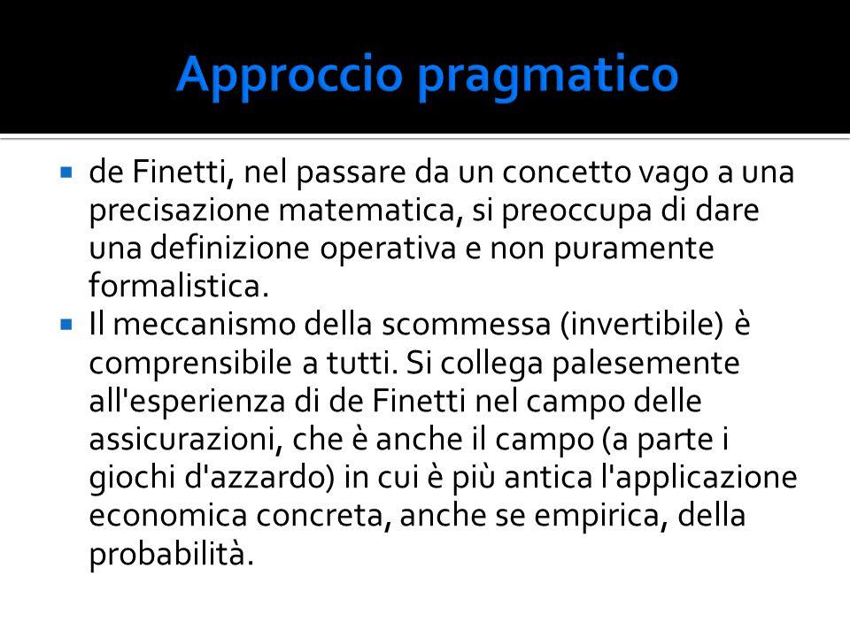 Approccio pragmatico
