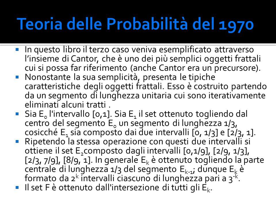 Teoria delle Probabilità del 1970