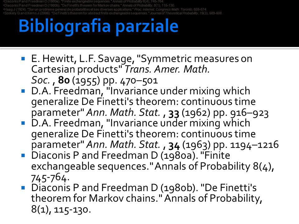 Bibliografia parziale