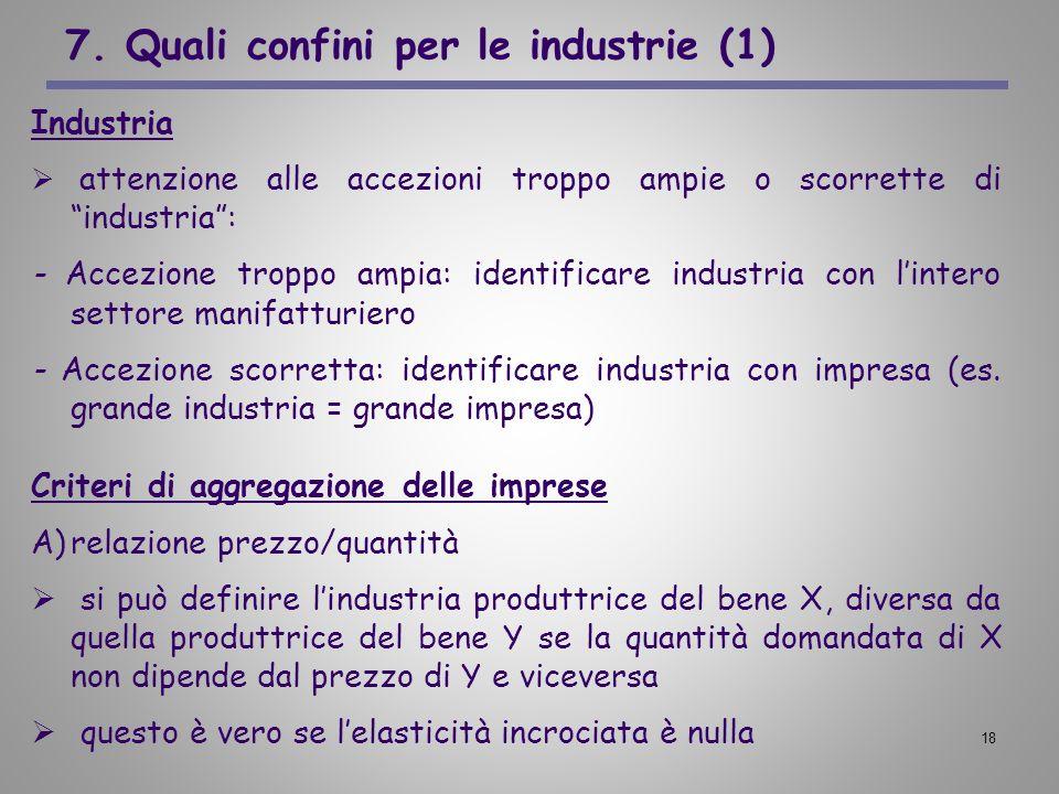 7. Quali confini per le industrie (1)