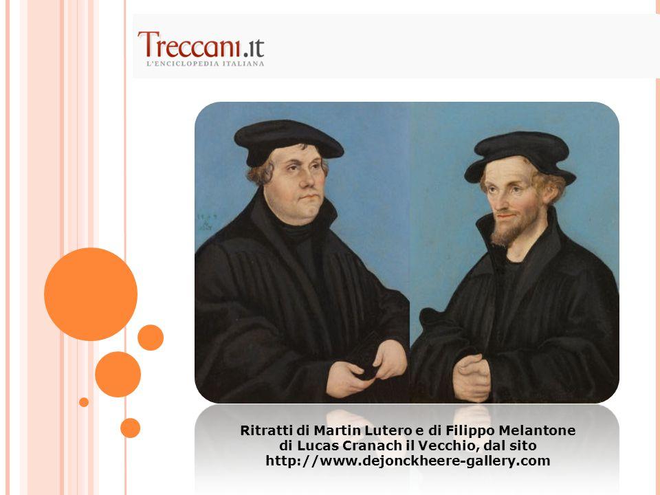 Ritratti di Martin Lutero e di Filippo Melantone