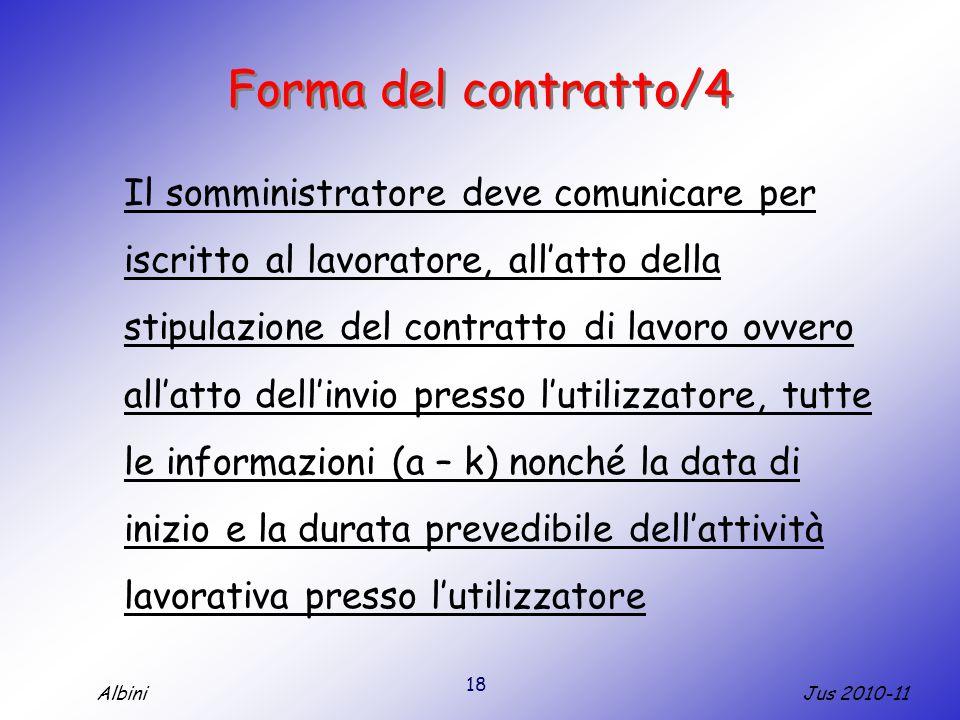 Forma del contratto/4