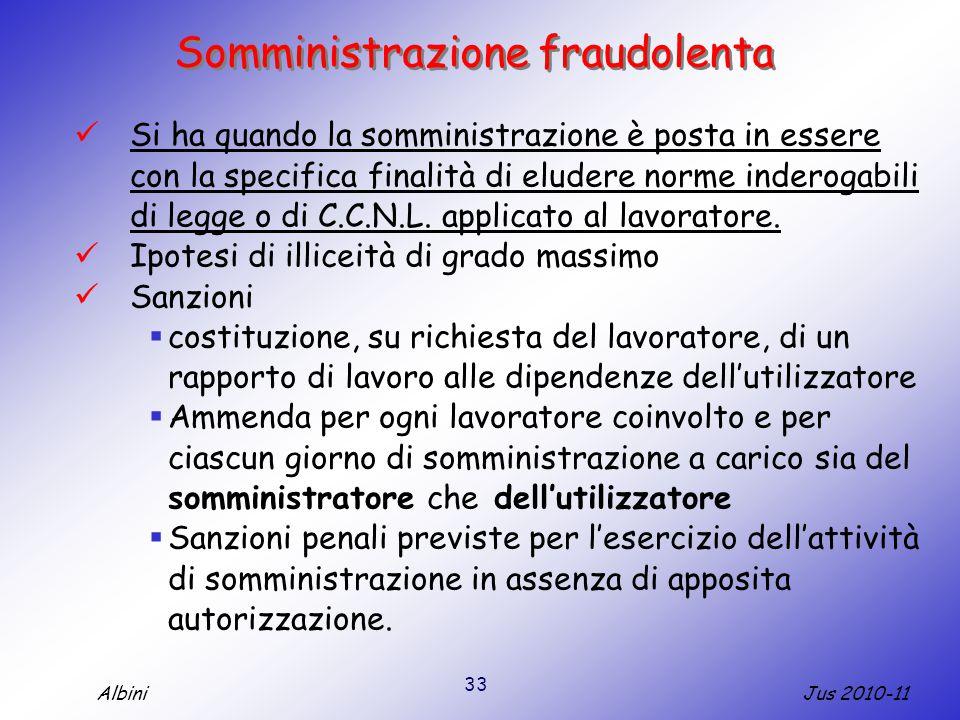 Somministrazione fraudolenta