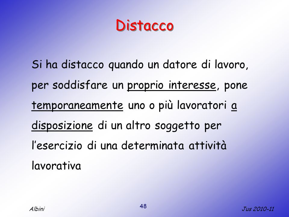 Distacco