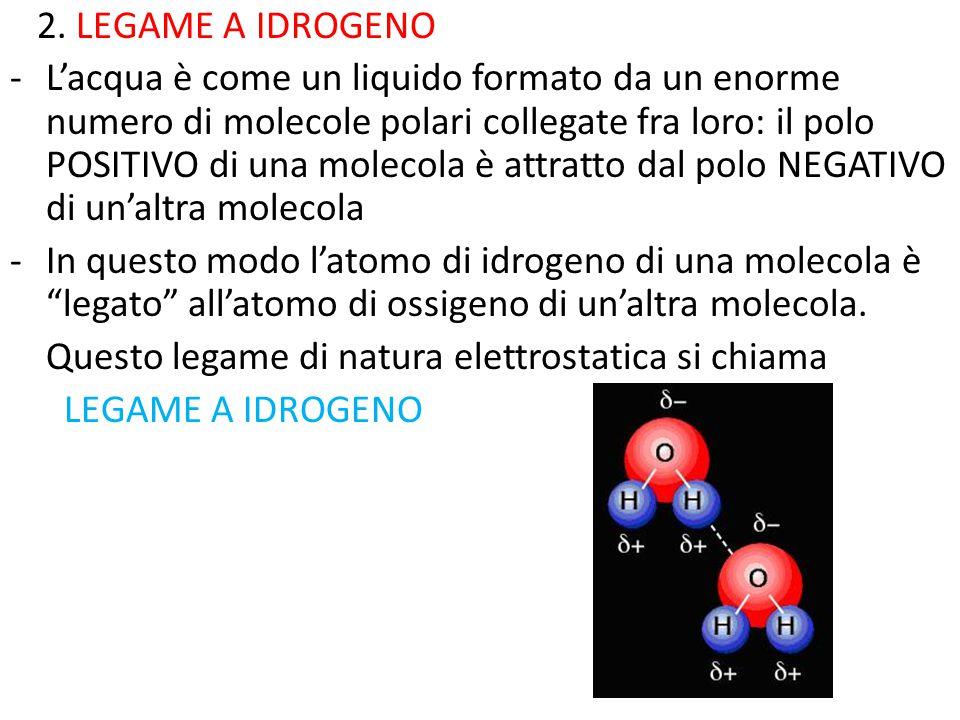 2. LEGAME A IDROGENO