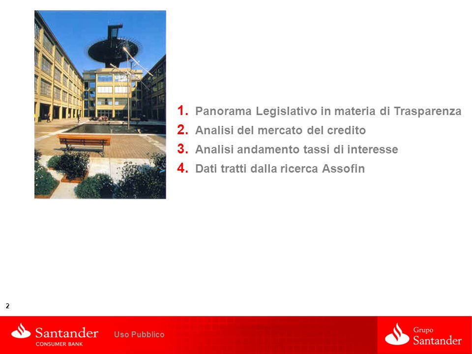 Panorama Legislativo in materia di Trasparenza