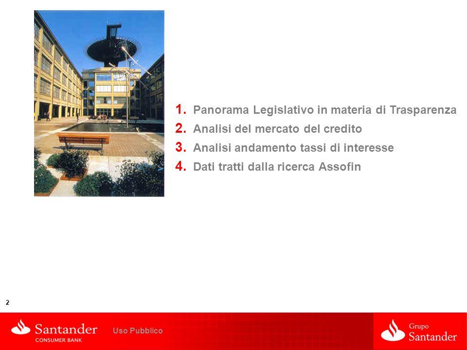 Panorama Legislativo in materia di Trasparenza