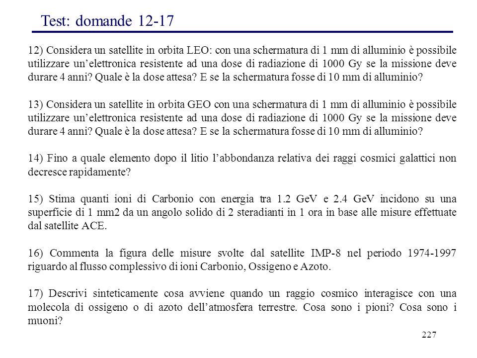 Test: domande 12-17