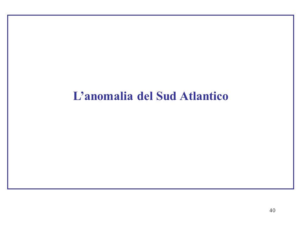 L'anomalia del Sud Atlantico