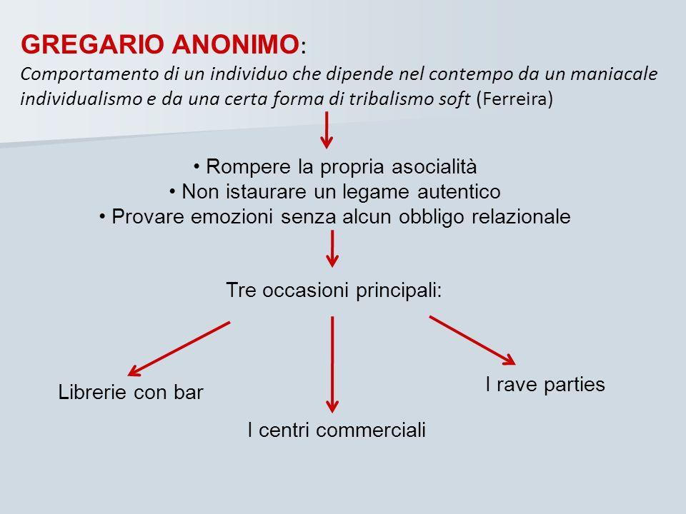 GREGARIO ANONIMO: