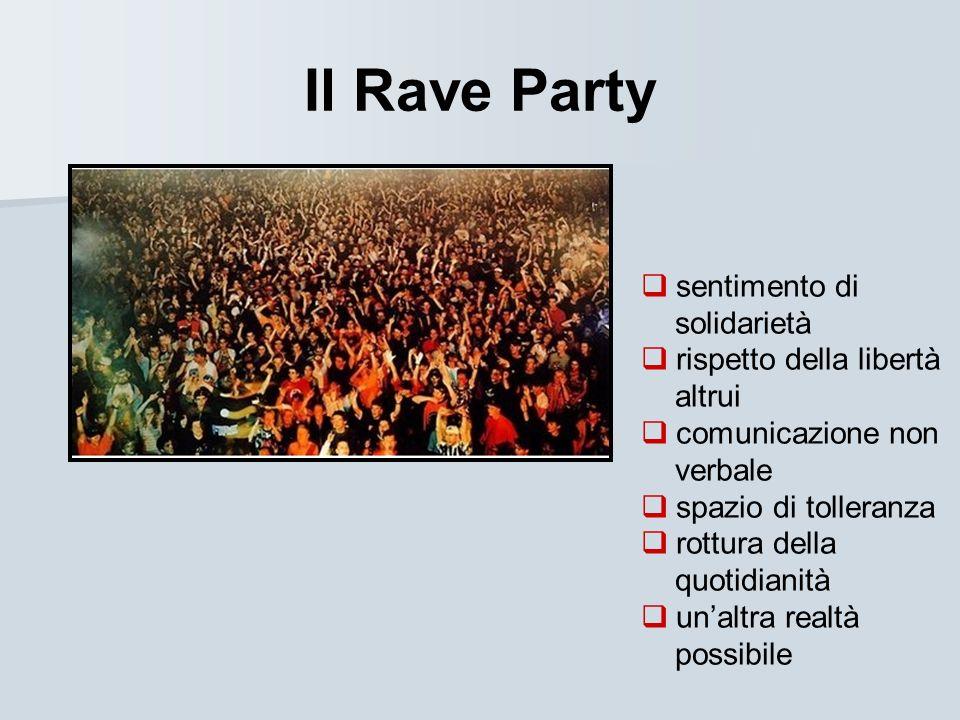 Il Rave Party sentimento di solidarietà rispetto della libertà altrui