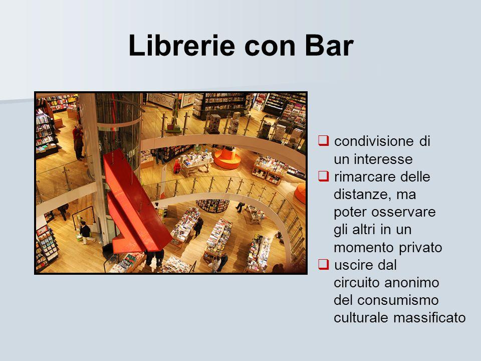 Librerie con Bar condivisione di un interesse rimarcare delle