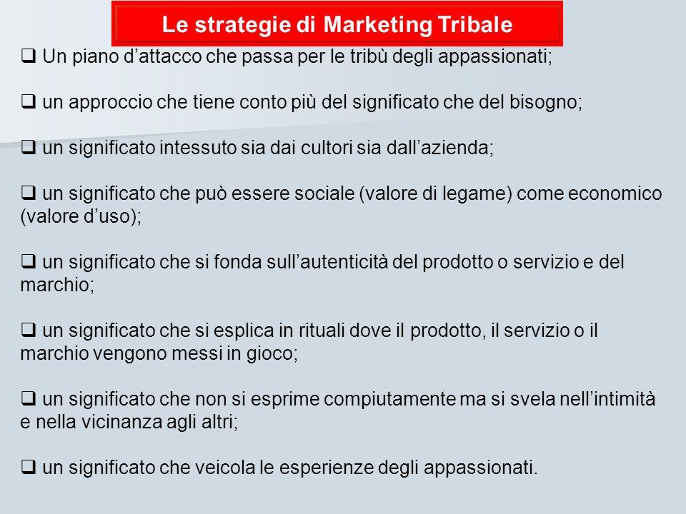 Le strategie di Marketing Tribale