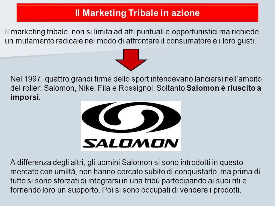 Il Marketing Tribale in azione