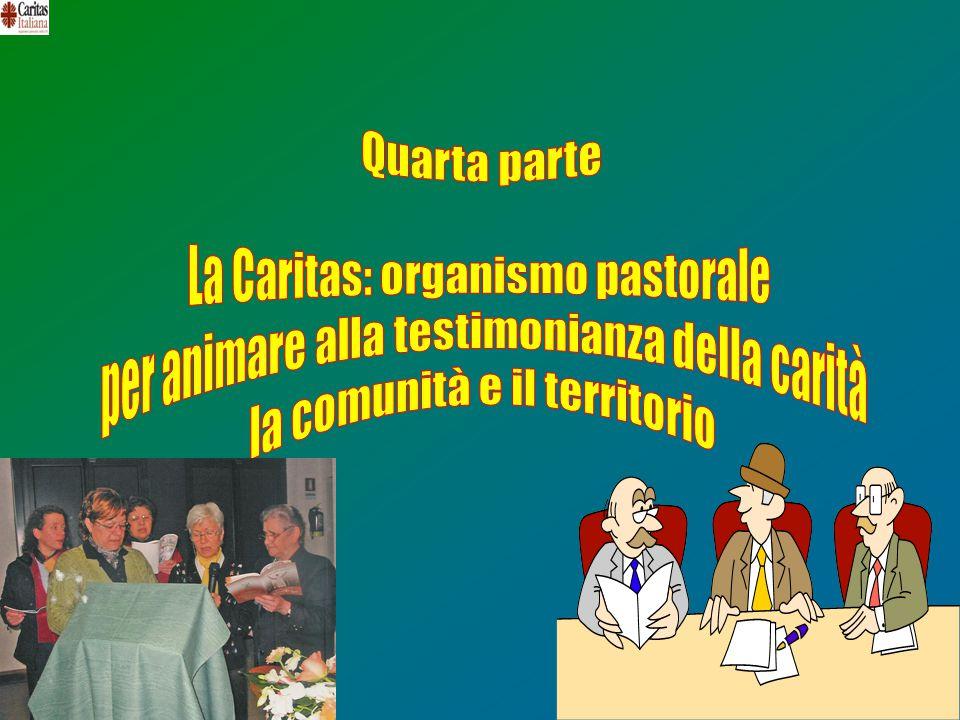 La Caritas: organismo pastorale