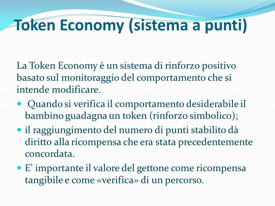 Token Economy (sistema a punti)