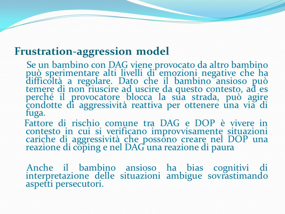 Frustration-aggression model