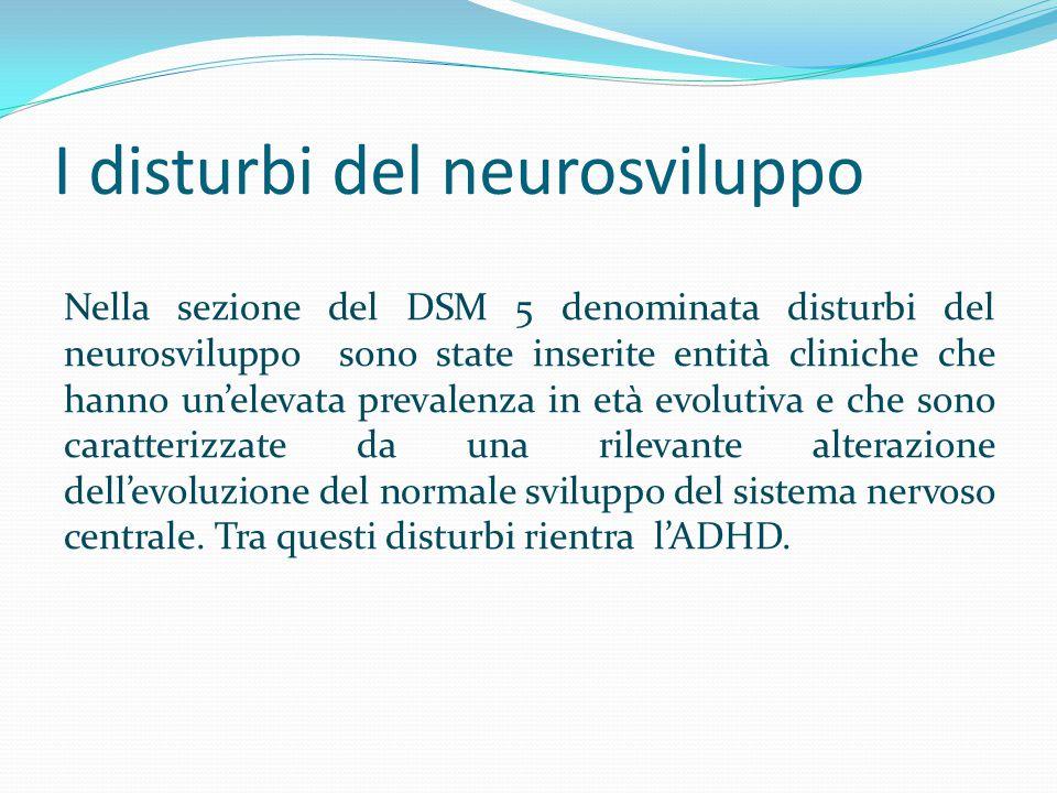I disturbi del neurosviluppo