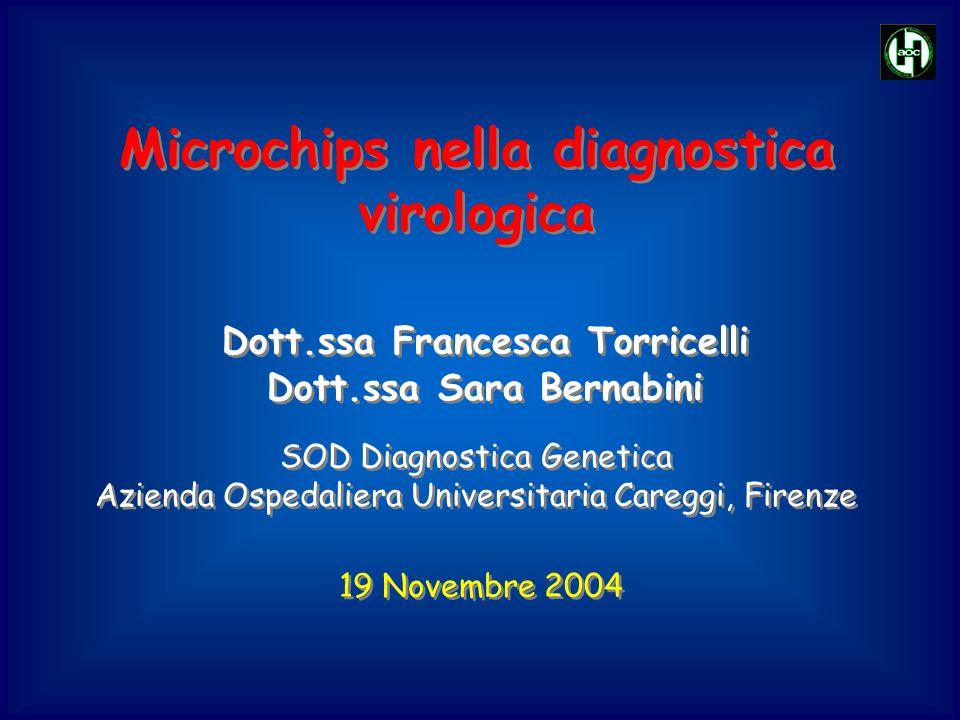 Microchips nella diagnostica virologica