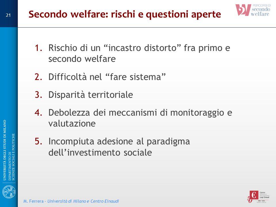 Secondo welfare: rischi e questioni aperte