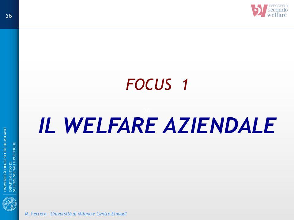 IL WELFARE AZIENDALE FOCUS 1 26 26