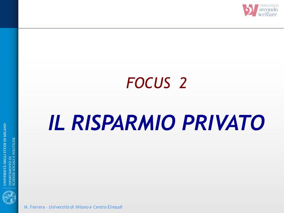 IL RISPARMIO PRIVATO FOCUS 2