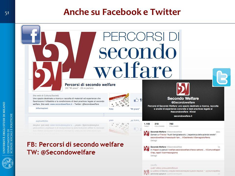 Anche su Facebook e Twitter
