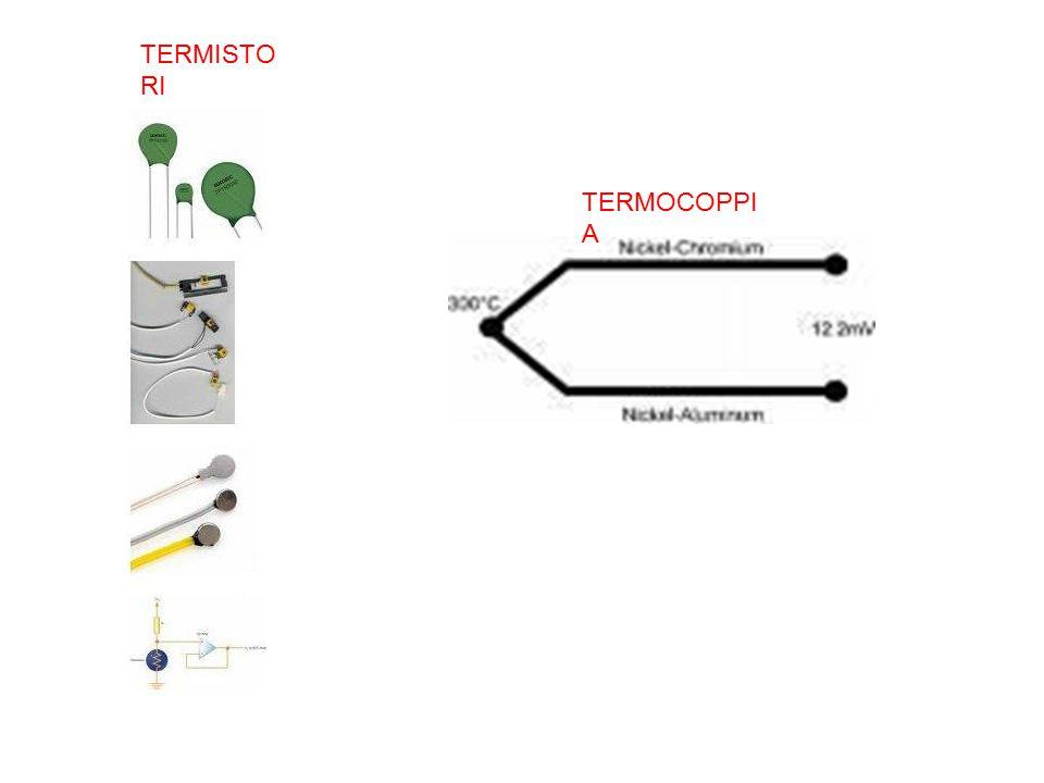 TERMISTORI TERMOCOPPIA