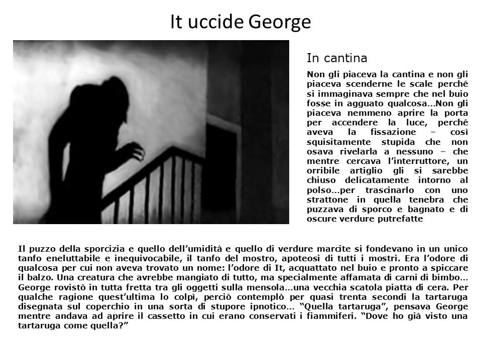 It uccide George In cantina