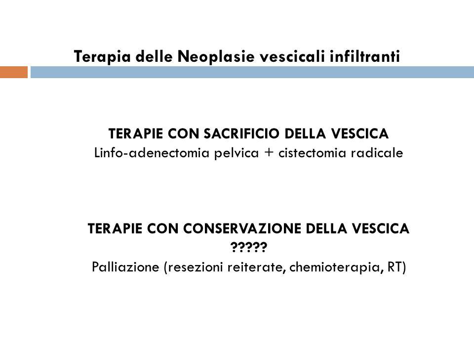 Terapia delle Neoplasie vescicali infiltranti